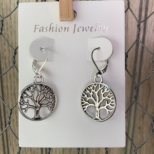 2ғᴏʀ$13🖤Family Tree Earrings